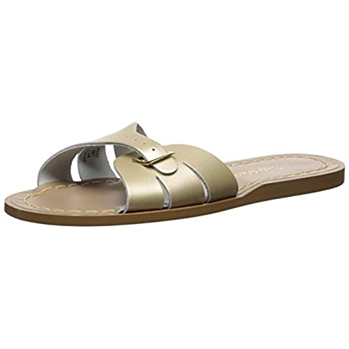 a0449058b5cc Saltwater By Hoy Women s Classic Slide Flat Sandal