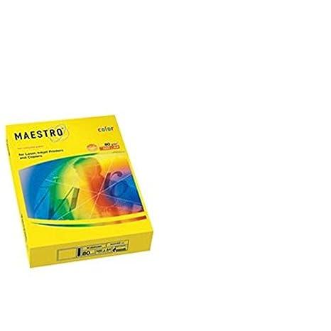 Mondi Carta per Fotocopiatrice e Multiuso, A4, gr. 80, Vaniglia 7035