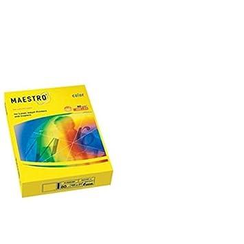 Kopierpapier MAESTRO® color, hellfarben, A4, 80 g/qm, vanille ...