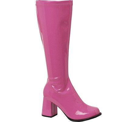 """Ellie Damen GOGO 3 """"Heel Zipper Boot Rosa"""