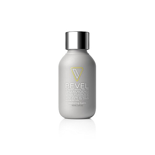 Bevel Restoring Balm, Skin Care for Men, Alcohol-Free, with Tea Tree Oil, Vitamin E, Witch Hazel, Aloe Vera, 2 fl oz.