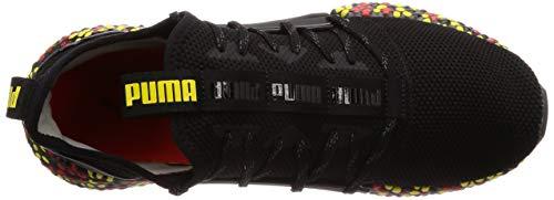 Uomo Running blazing high 10 Nero Runner Red Scarpe Yellow Rocket Puma Black Hybrid Risk puma wTnqR1Ta