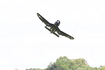 "FMS F4U Corsair V2 RC Airplane 4CH 800mm (31.5"") Wingspan Blue PNP Warbird"