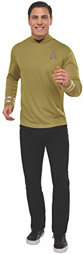 Star Trek Mens Deluxe Captain Kirk Costume
