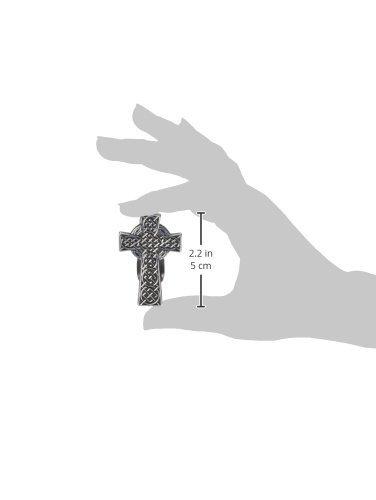 2-3//8-Inch Cathedral Art KVC401 Auto Visor Clip Celtic Cross
