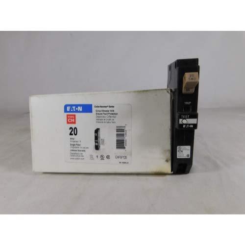 Eaton CHFGF120 Ch Series 1-Pole Gfci Breaker 20A, 4.7 x 23 x 15.75