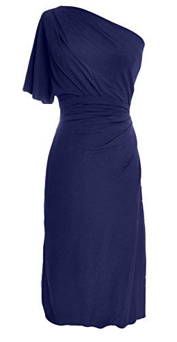 MACloth - Robe - Trapèze - Sans Manche - Femme -  bleu - 48
