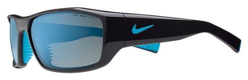 Nike Brazen Sunglasses EV0571 044 Night Stadium/Neo Turq Grey W/ Blue - Sunglass Neo