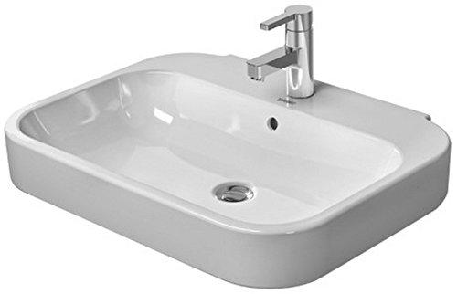 (Duravit 2316600000 600mm Happy D.2 Wash Basin, White)