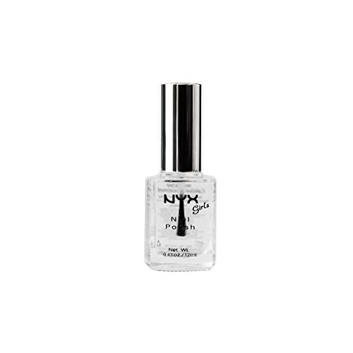 NYX Girls Nail Polish Clear 12ml (Nail Nyx Polish Nails)