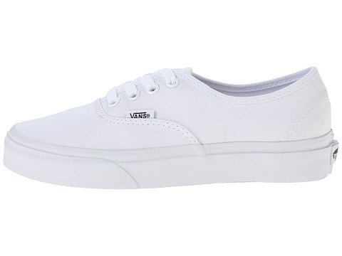 Vans Unisex Autentico Canvas Nero Vn000ee3blk Skate Shoe True White
