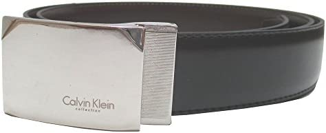 (カルバンクライン) Calvin Klein レザー リバーシブル メンズベルト ビジネスベルト [イタリア製] CK D-15 Black/Brown [並行輸入品]