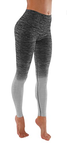 Vesi Star Women's Flexible Exercise Pants (Medium, Grey)