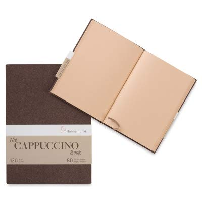 (Hahnemuhle, Sketch Book, Cappuccino, A4 (11.7x8.3 inches) 120gsm, 40 sheets/80 Pages, Hardbound)