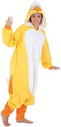 Creaciones Llopis Disfraz de Pollito Amarillo para Adultos: Amazon ...