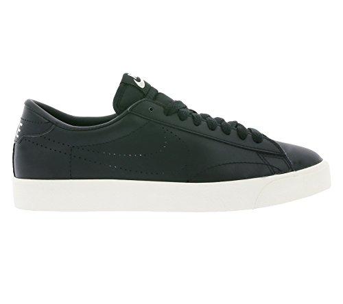 Nike Tennis Classic AC, Zapatillas de Tenis para Hombre, Bianco, 40 EU Negro / Amarillo (Black / Black-Desert Sand)