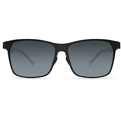 GY Gafas de Sol de Resina, Lentes polarizadas de Nailon, Estructura de Soldadura sin Tornillos, Experiencia Ultraligera, Personalidad de Hombres y Mujeres ...