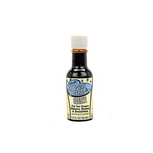 - Flavor Fountain Ice Cream Flavoring - 1.7oz bottle - French Vanilla