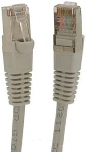 Gray 350MHz 1Gigabit//Sec High Speed LAN Internet//Patch Cable GOWOS Cat5e Shielded Ethernet Cable 3-Pack - 175 Feet 26AWG Network Cable with Gold Plated RJ45 Snagless//Molded//Booted Connector