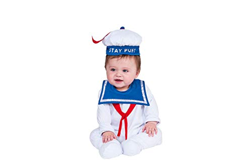 Rubie's Baby Ghostbusters Classic Stay Puft Costume Romper, As Shown, 6-12 -