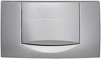 bianco Geberit 115222111 Piastra di azionamento per cassette di risciacquo ad incasso 200F per azionamento lato anteriore