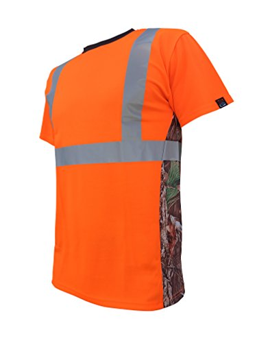 SafetyShirtz SS360 Deepwoods Camo Safety Tee ANSI Class 2 M