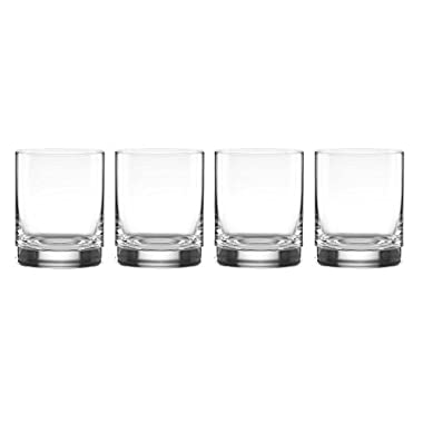Lenox Tuscany Classics Cylinder Double Old Fashioned Glass, Clear 13 oz Set of 4
