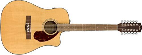 Fender CD-140SCE 12-String Acoustic Guitar – Natural