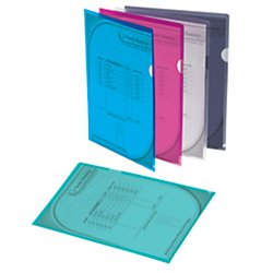 Folder Letter Project (Office Depot Poly Project View Folders, Letter Size, Assorted Colors, Pack Of 10, 741361)