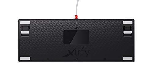 Xtrfy K4 TKL RGB Retro Compact Mechanical Gaming Keyboard - US Layout