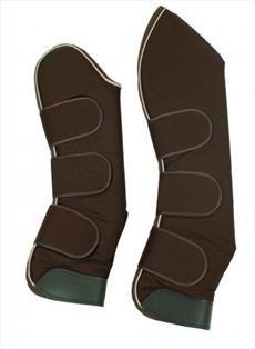 Horseware Ireland Grand Prix Travel Boots-Chocolate - Cob by Rambo