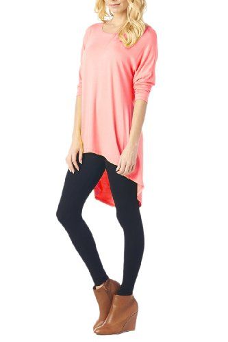 Women'S Jersey Various Styles Of Long Sleeves Basic Tunic - Solid & Print