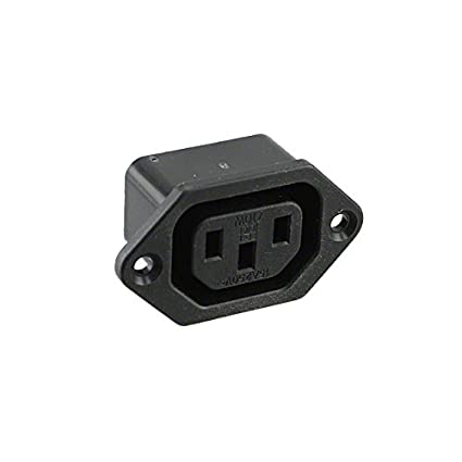 PWR ENT RCPT IEC320-2-2F PNL QC Pack of 30