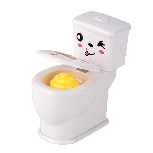 SANNYSIS Mini Funny Prank Squirt Spray Water Toilet