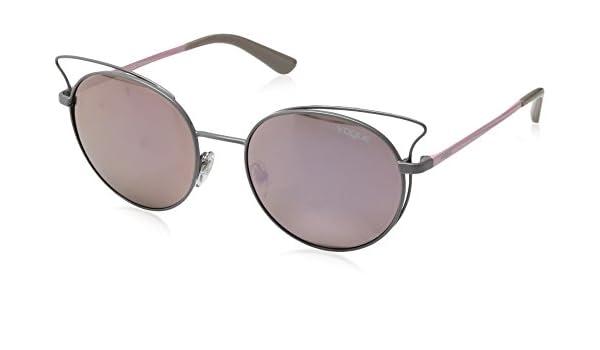 Vogue Casual Chic Gafas de sol, Pastel Grey, 52 para Mujer ...