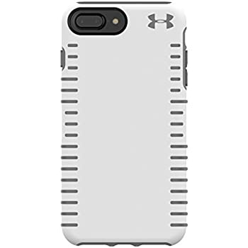 premium selection 28b42 89202 Under Armour UA Protect Grip Case for iPhone 8 Plus, iPhone 7 Plus & iPhone  6 Plus/6s Plus - White/Graphite