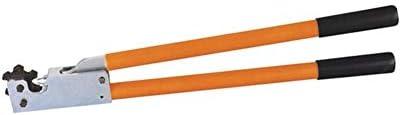 ケーブルカッター 非絶縁ケーブルリンク用 銅管端子 圧着ハンドツール 16-95mm² AL/CU圧着工具 手動ケーブルカッター