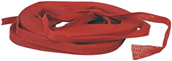 "delicate Industrial Netting NG2040-164 Vexar LDPE Superduty Elastic Protective Sleeve, 2"" to 4"" Diameter, Red (Box of 164 Feet)"