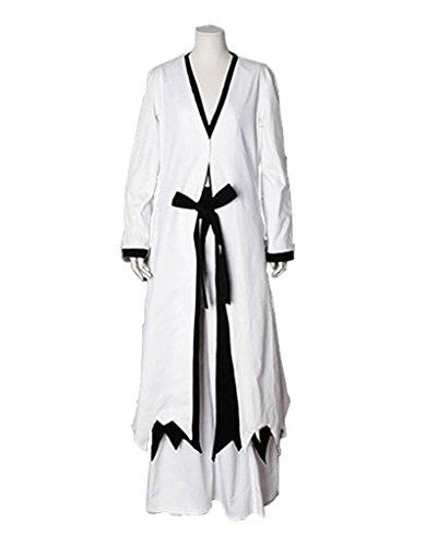 FancyStyle Bleach Cosplay Ichigo Kurosaki Costume Outfit White Male L
