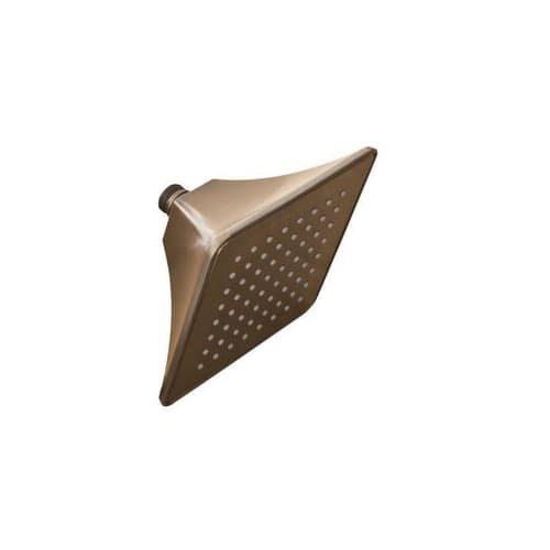 Mirabelle MIRSH2060EORB Sophistispa Single Function 6'' Square Shower Head by Mirabelle