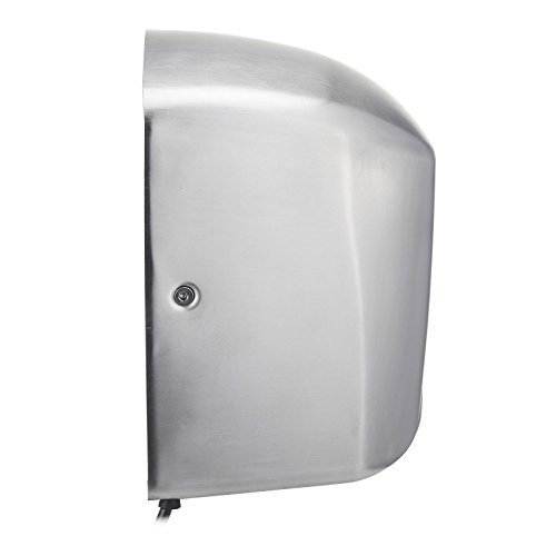 Commercial Hand Dryer 1350 Watts Automatic Stainless Steel Silver High Speed Hand Dryer With