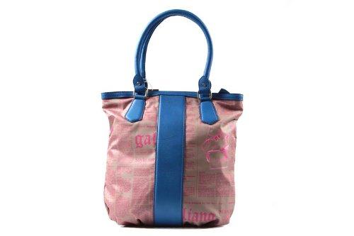 John Galliano sac à l'épaule femme blu