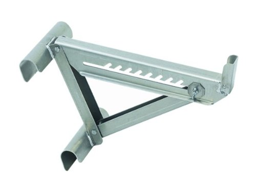 (Qualcraft 2420 Two-Rung Short Body Ladder Jack, Silver)