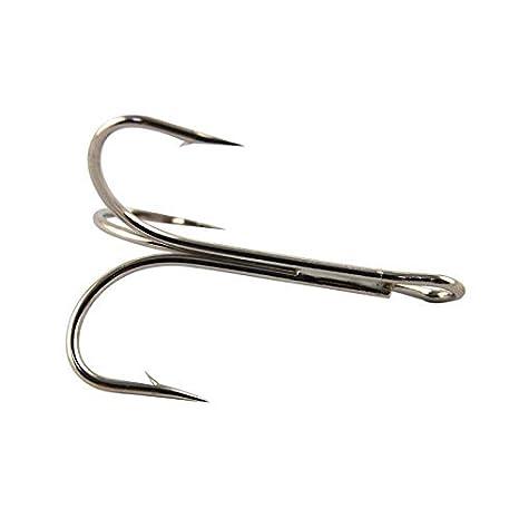 888BL 7 Tru-Turn Gold-Plated Aberdeen 50 Pack Size 7 Fishing Hooks