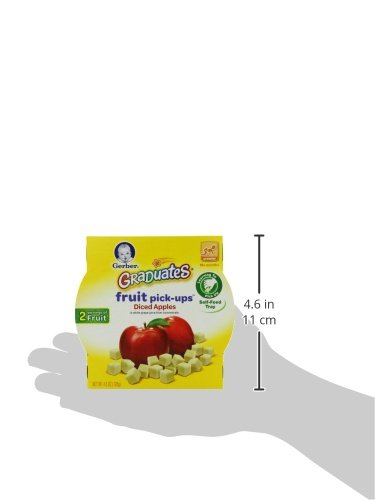 Gerber Graduates Fruit Pick Ups - Diced Apples, 4.5-Ounce (Pack of 8) by Gerber Graduates (Image #7)