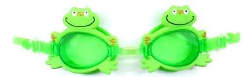 (Water Gear Children's Animal Swim Goggles - Green Frog)