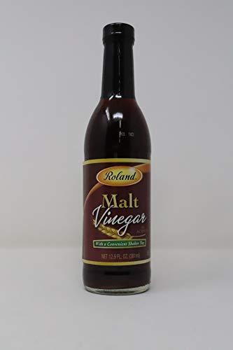Roland- Malt Vinegar with Shaker Top 12.9 Ounce ()