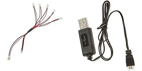 qty  1  1 to 5 micro jst mini plug 1s charge lead cable