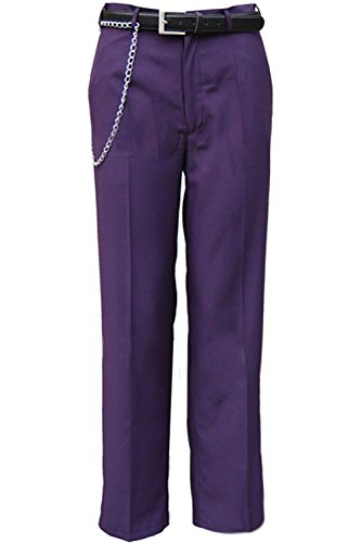 mingL Halloween Joker Cosplay Costume Pants Shirt Party Dress Up (The Joker Suit)