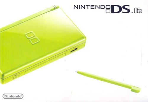 NINTENDO DS LIME GREEN